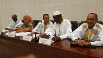 Appel du Pr�sident Balas, aux dialoguistes du Palais des Congr�s, � la commission de supervision et au Pr�sident Mohamed ould Abdel Aziz .
