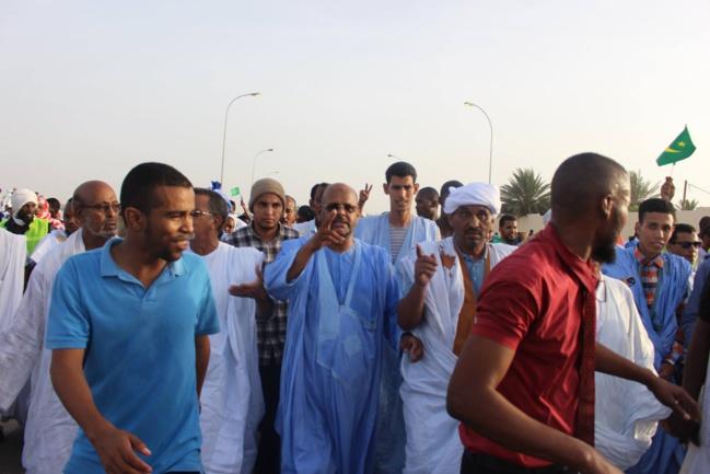 Gigantesque marche de l'opposition contre le projet de révision constitutionnelle