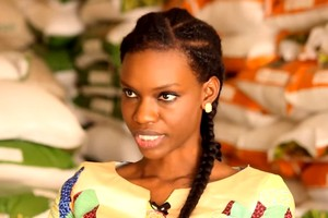 Safietou Kane, une jeune mauritanienne de 25 ans à la tête d'une grande entreprise de production agricole.