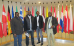 Les militants d'IRA Mauritanie et ses partenaires au rendez-vous pour une formation à Bruxelles financée par le Prix Tulipe des droits l'homme.