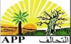 DÉCLARATION DU PARTI ALLIANCE POPULAIRE PROGRESSISTE - A.P.P