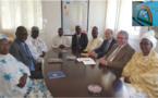 Une délégation du PMC Arc-en-ciel reçue par l'ambassadeur de France en Mauritanie.