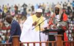 GAMBIE : Adama Barrow prête serment devant son peuple