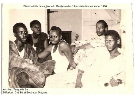 Contribution à l'occasion du 52e anniversaire de l'arrestation des auteurs du Manifeste des 19, le 11 février 1966