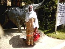 Maïmouna Alpha Sy, Secrétaire générale du Collectif des veuves des victimes militaires et civiles des événements de 1989 – 1991. © 2017 privé