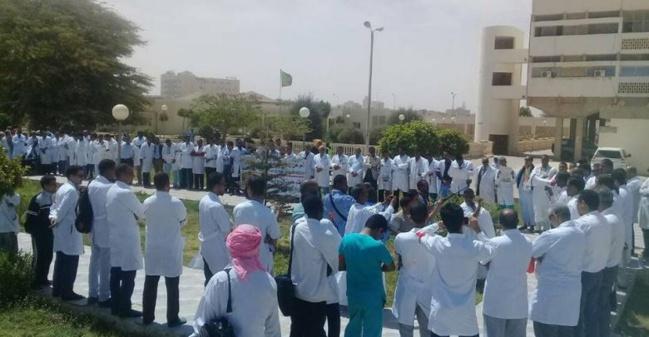 Nouvelle escalade dans la grève des médecins