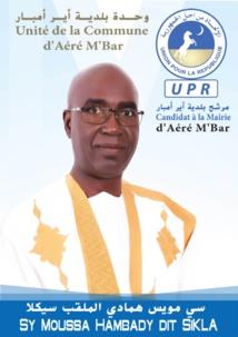 SY Moussa Hamady dit Sigla candidat à la mairie de la commune de Aére M'bar