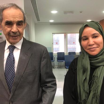 Aisha Sid Ahmed raconte sa  rencontre fortuite avec l'ex Président Maouya Ould Sid'Ahmed Taya