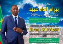 Présidentielle 2019-Biram Dah Abeid entame la conquête de Riad