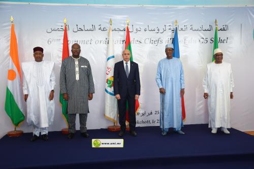 Sommet G5 Sahel à Nouakchott : les 5 Chefs d'Etat demandent le soutien de l'ONU