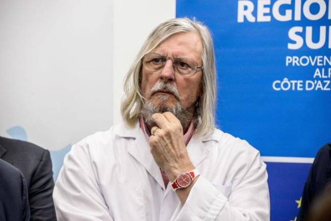 """Didier Raoult : """"Sur le plan de l'épidémie, on est au bout"""""""