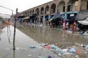 Mauritanie : Nouakchott inondé par des eaux de pluie