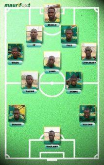Maurabitounes:victoire une équipe nationale de football à 100% BLACK'' sur le LIBERIA