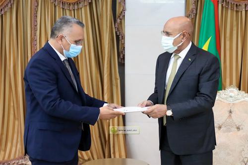 Le Président de la République reçoit le rapport annuel de la CNDH