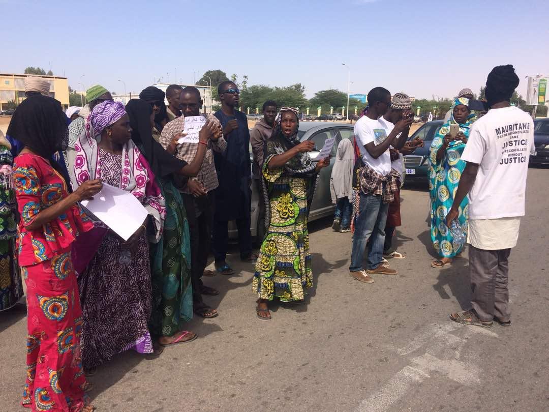 Mauritanie : manifestation à Nouakchott contre les arrestations de Kaédi
