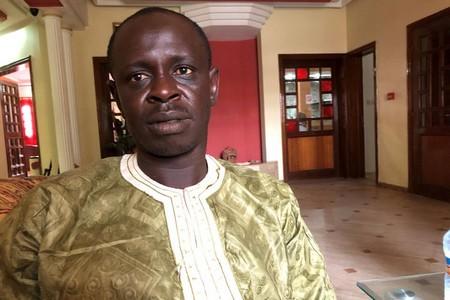 Djiby Sow, président de l'organisation non gouvernementale Kawtal. Nouakchott, octobre 2017. © Eric Goldstein/Human Rights Watch