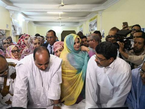 Des voix politico- religieuses pour un 3e mandat pour Aziz