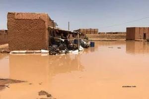 Sit-In contre les inondations à Bassiknou