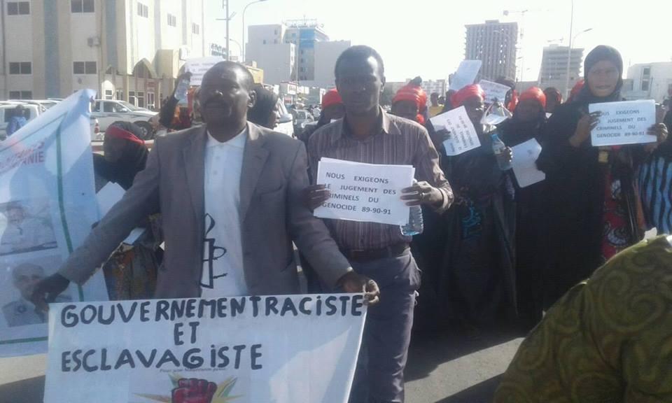 Passif humanitaire/devoir justice : Le collectif des veuves persiste