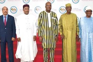 Mali : G5 SAHEL : La force conjointe désarmée par l'équation de la mobilisation des ressources financières