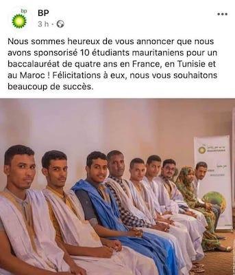 Mauritanie: Jamil Ould Mansour sur les bourses d'études de BP