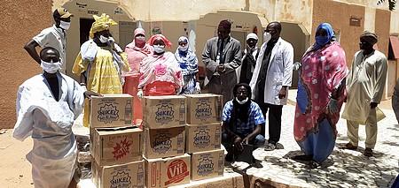COVID-19 : le Collectif des ONG nationales du Gorgol se mobilise (Photoreportage)