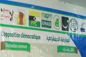Opposition: Les partis politiques sortent de leur silence