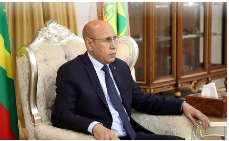 Le président Ghazouani à la recherche de soutiens pour un candidat mauritanien à un poste africain