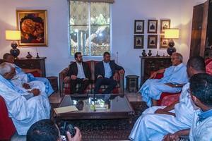 """Le Président du RFD : """"La cause palestinienne est une question centrale pour tous les mauritaniens"""""""