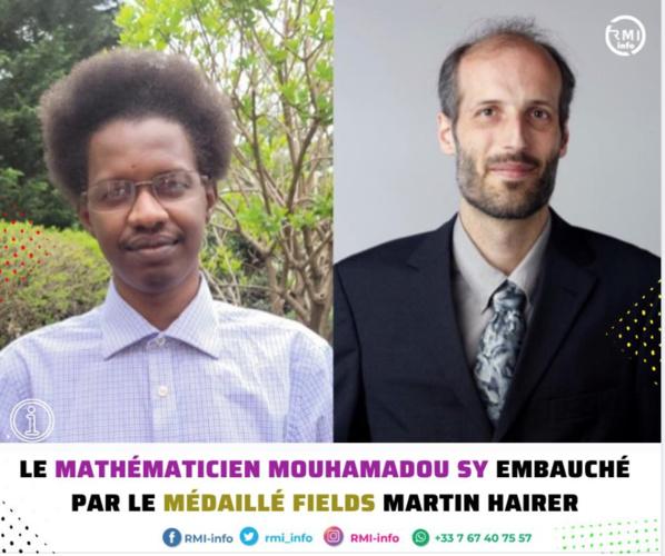Le Mathématicien Mouhamadou Sy embauché par le médaillé Fields Martin Hairer