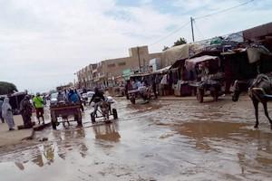 Rosso: le ras-le-bol des habitants face au manque de moyens pour évacuer les eaux de pluies