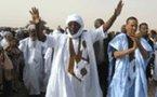 Le candidat Messaoud Ould Boulkheir tient un meeting à Nouadhibou