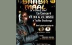 Baba Maal se produira en concert les 23 et 24 mars 2018 à Touldé-Doubango