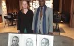 Le combat de Biram Dah Abeid inspire l'artiste peintre néerlandaise Ruth Bebschop