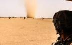 Les forces françaises à la poursuite de l'un des meurtriers des soldats américains