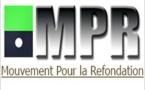 Le M.P.R condamne fermement la décision de sa dissolution par un arrêté nul et non avenu