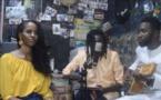 L'artiste Cheikh Oumar Ly et la Mauritanienne