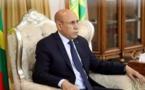 Saleh O. Hanena reçu en audience par O. Ghazouani au palais présidentiel