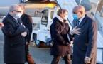Le Président de la République arrive à Paris